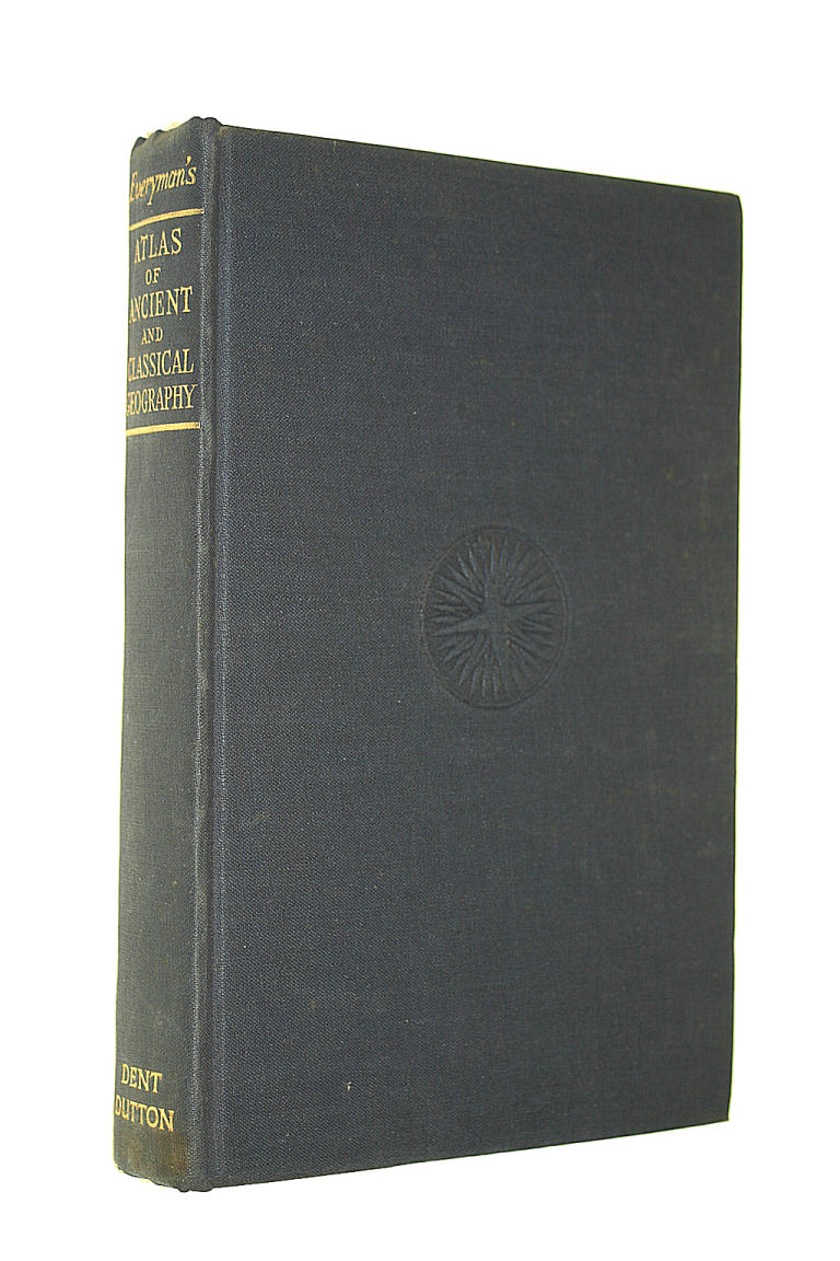 Image for Everyman's atlas of ancient and classical geography (Everyman's Reference library series)