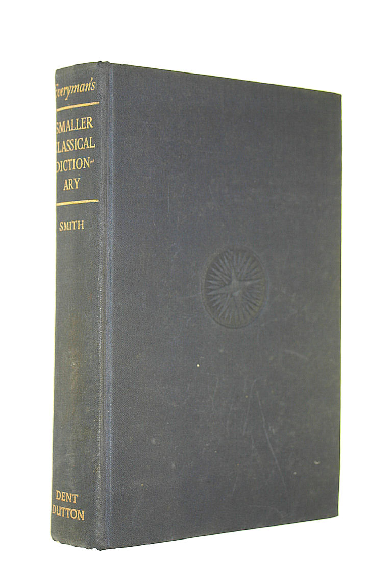Image for Everyman's smaller classical dictionary