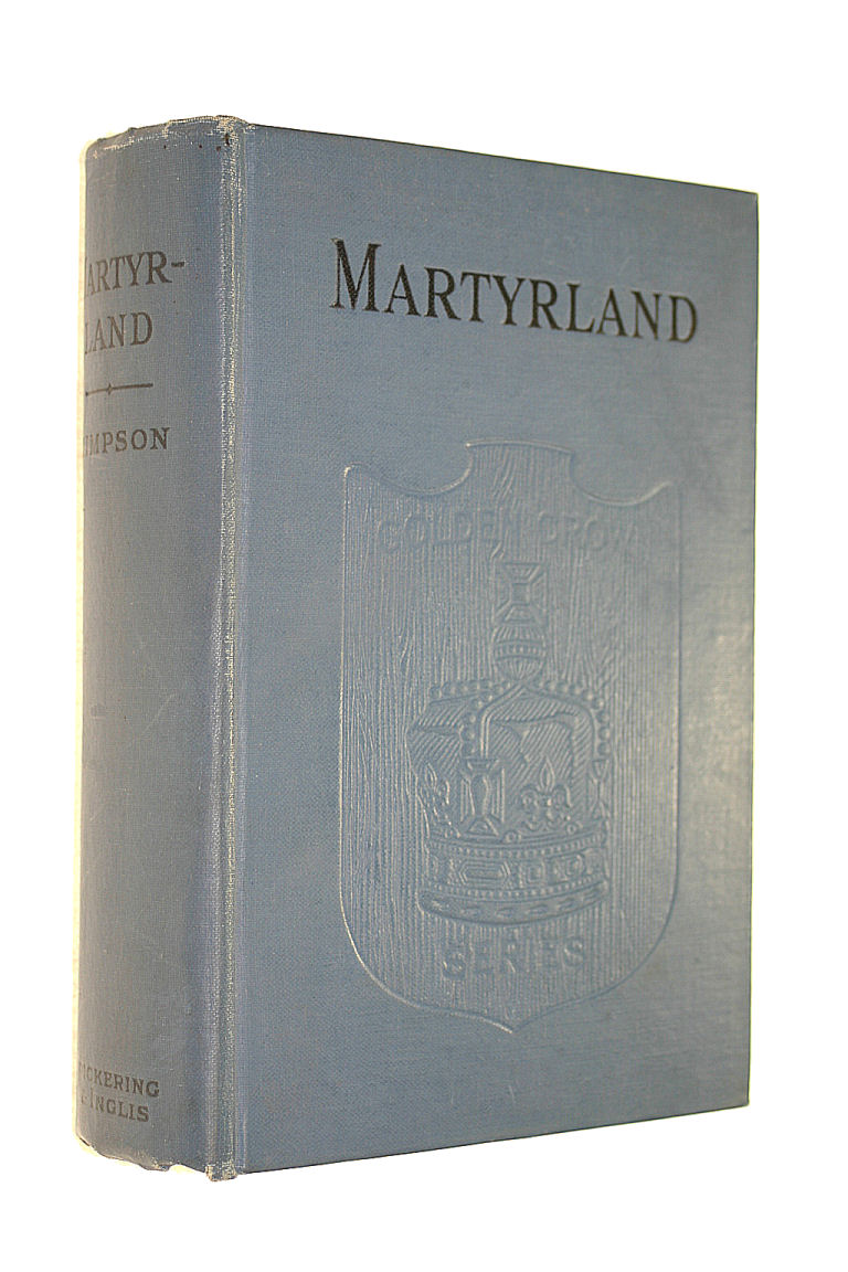 Image for Martyrland, etc (Golden Crown Library.)