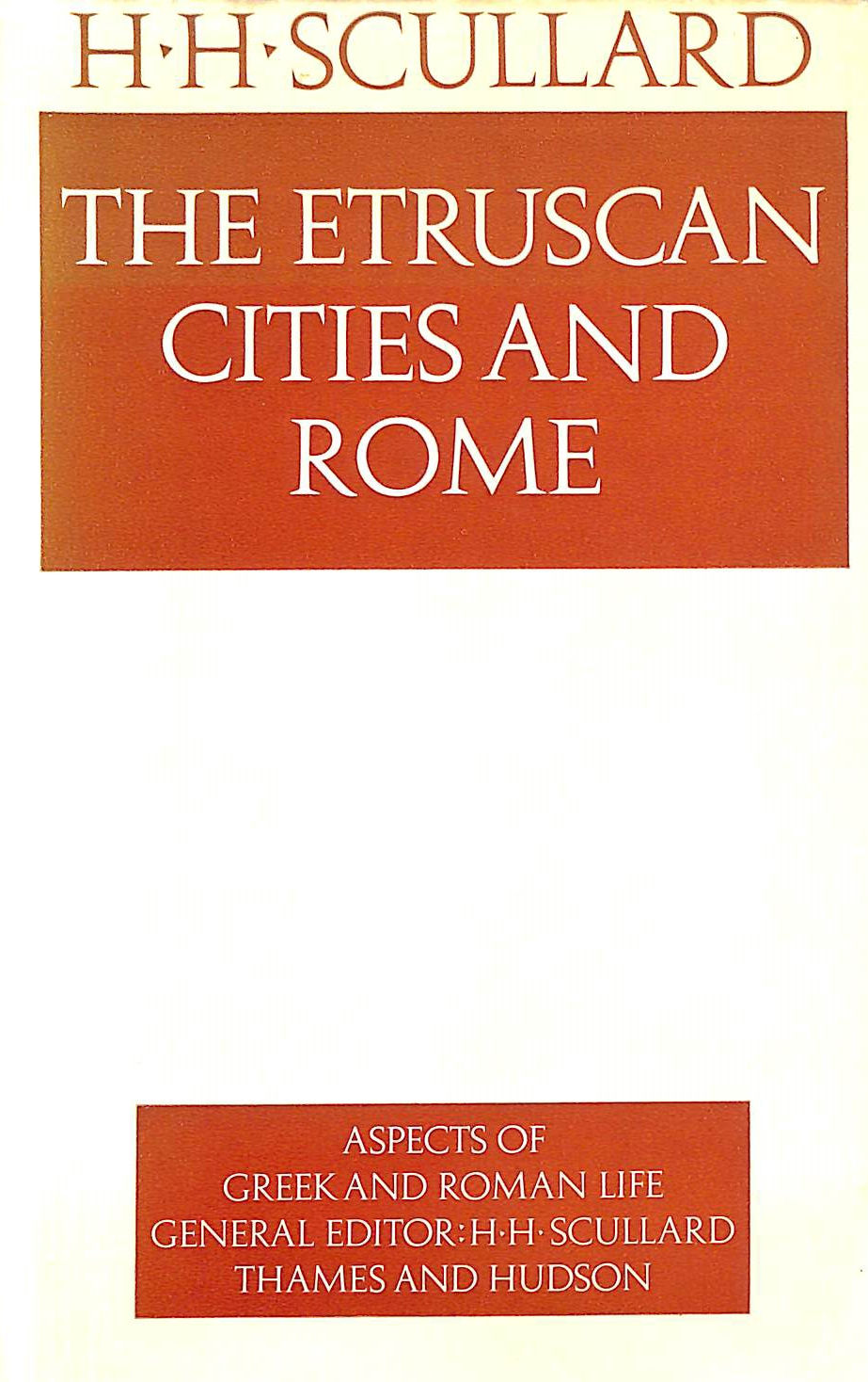 Image for The Etruscan Cities And Rome
