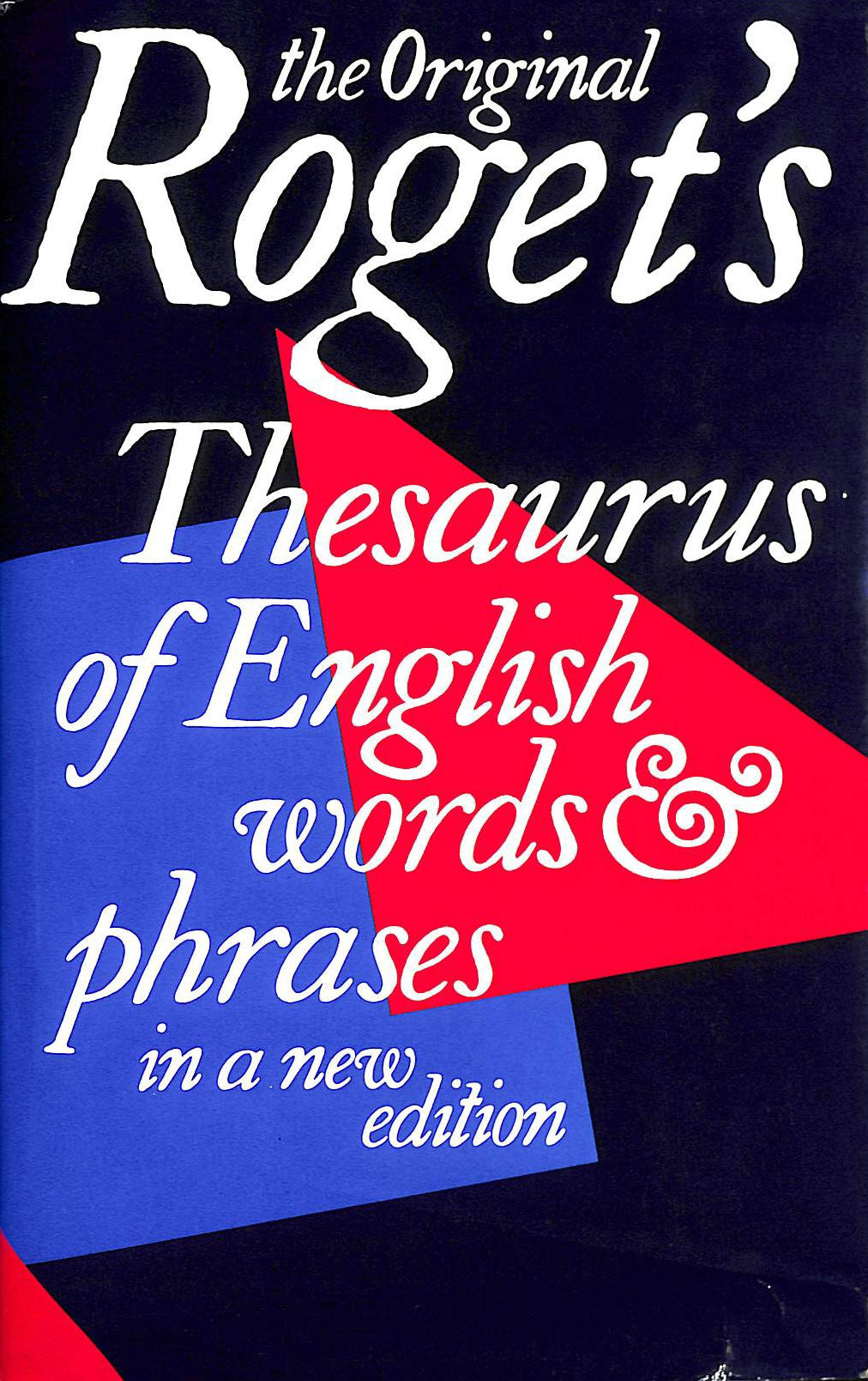 Image for Thesaurus of English Words and Phrases