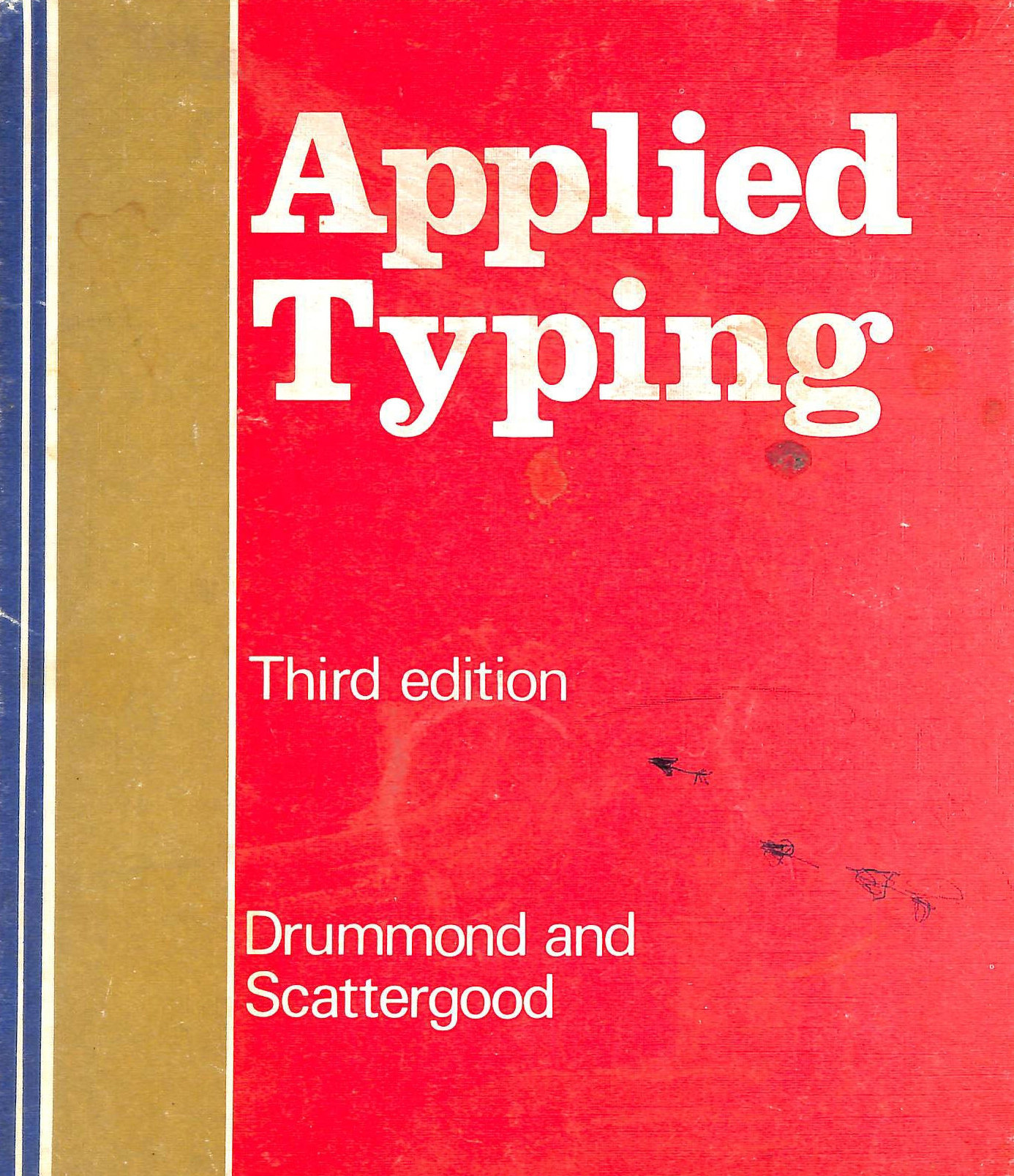 Image for Applied Typing