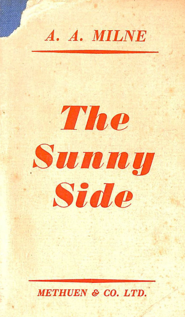 Image for The Sunny Side .