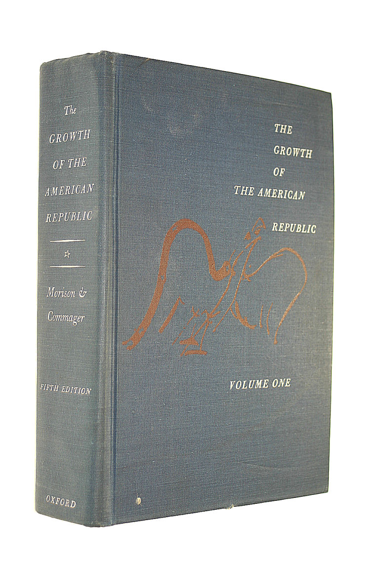 Image for The Growth of the American Republic, Volume One