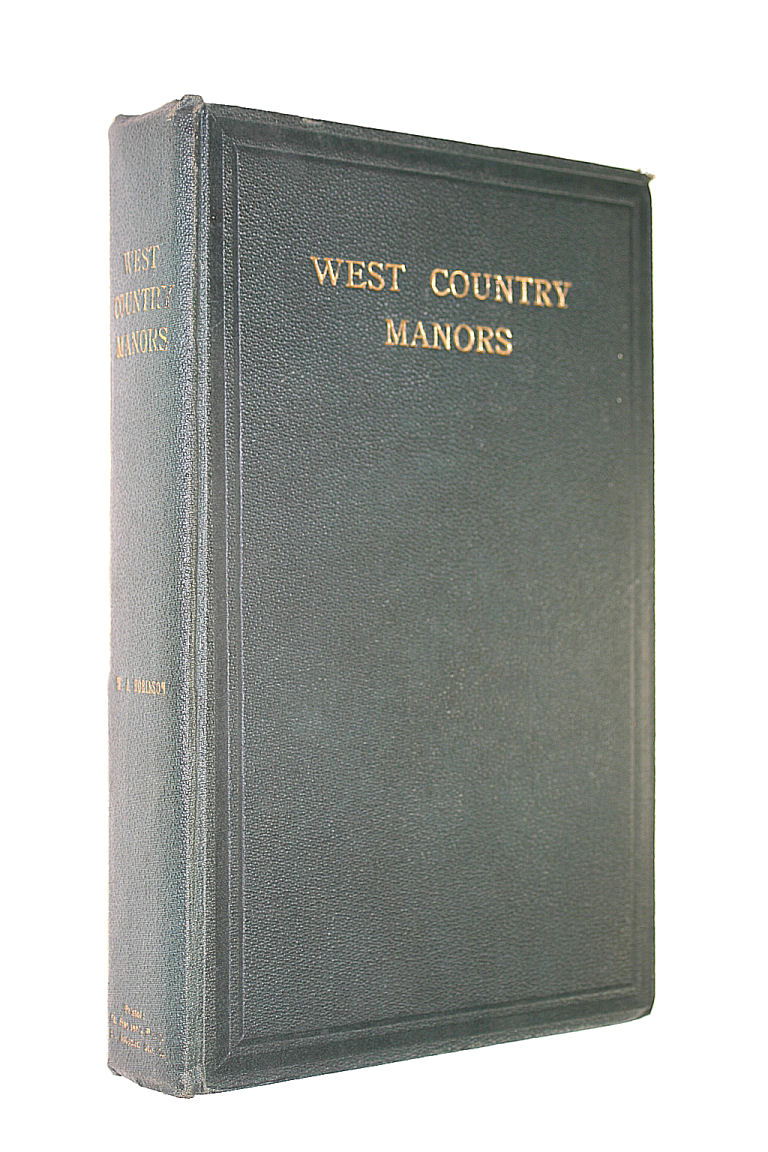 Image for West Country Manors by W.J. Robinson