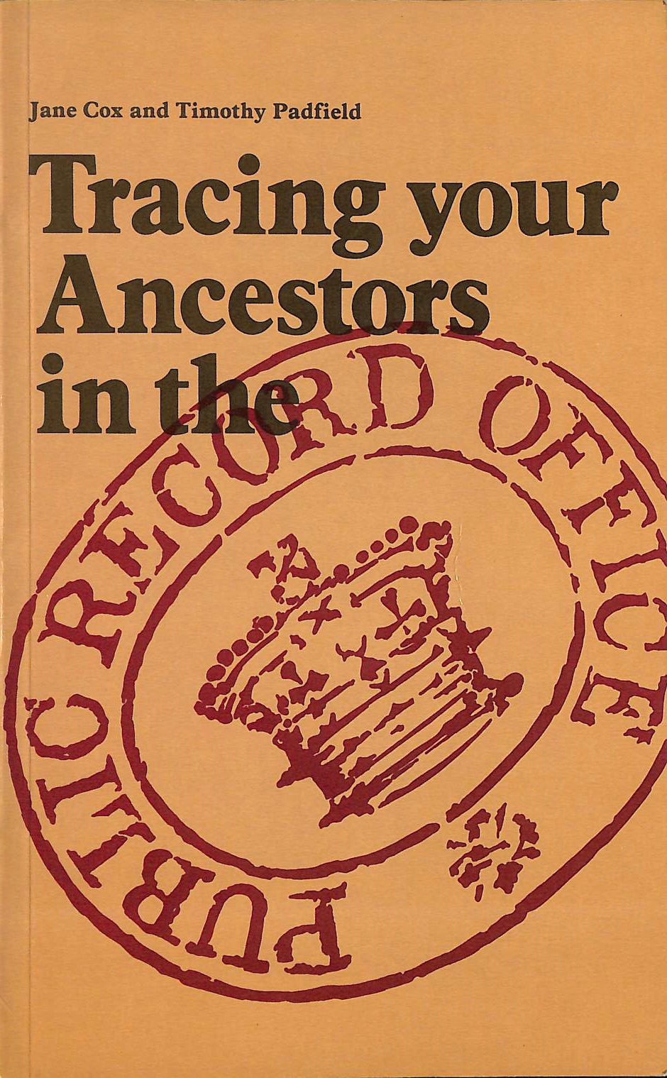 Image for Tracing Your Ancestors in the Public Record Office