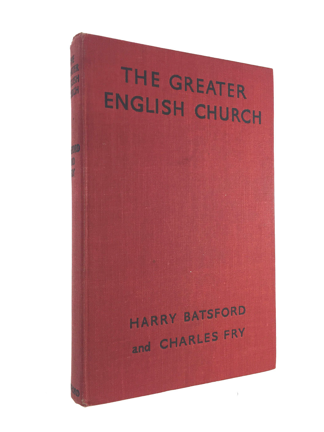 Image for THE GREATER ENGLISH CHURCH