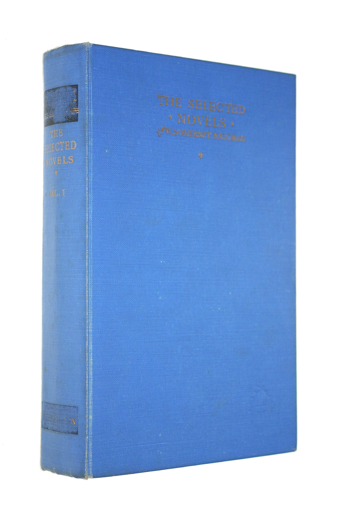 Image for The selected novels of W. Somerset Maugham Vol 1