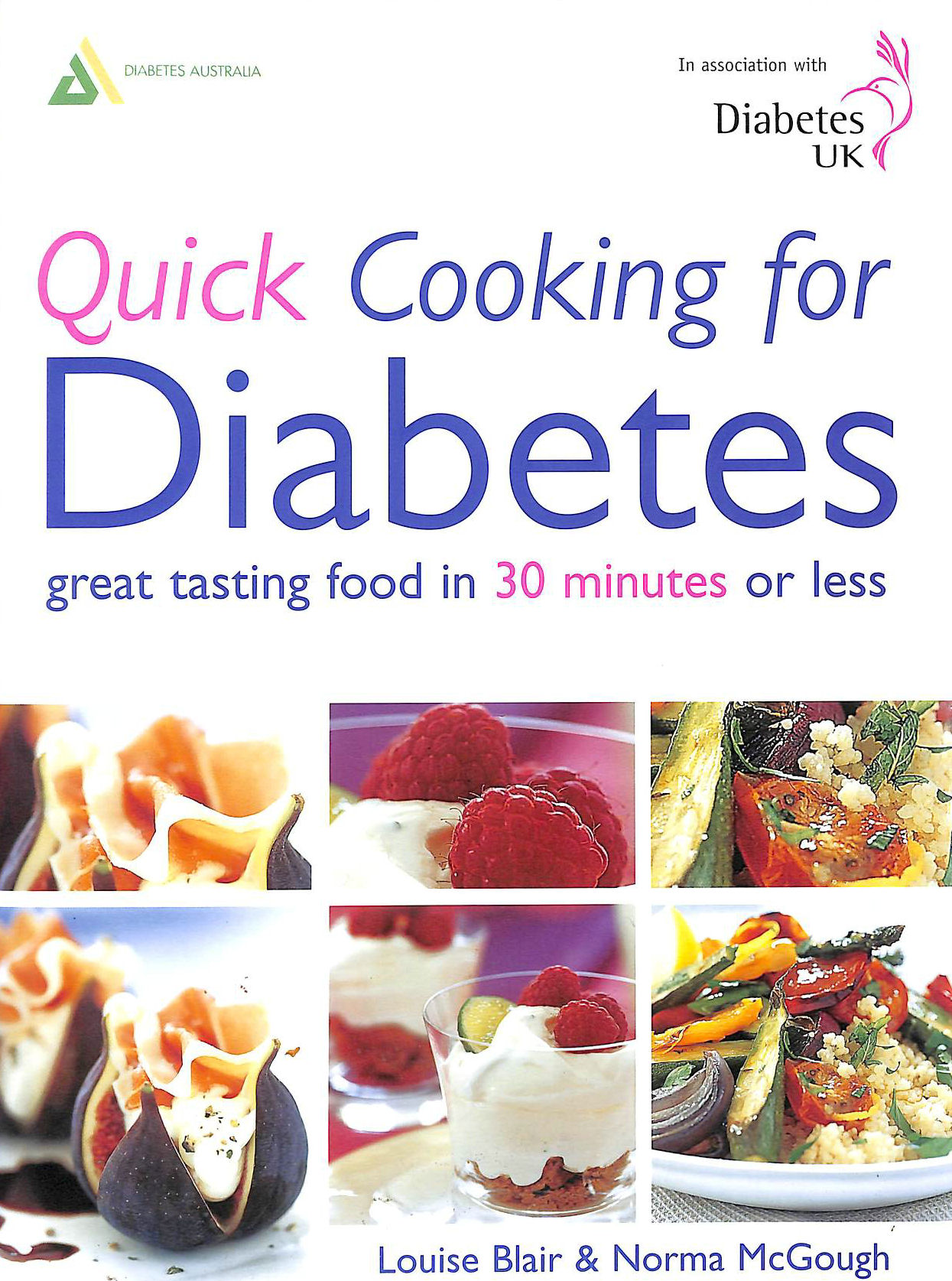 Image for Quick Cooking for Diabetes: Great Tasting Food In 30 Minutes Or Less