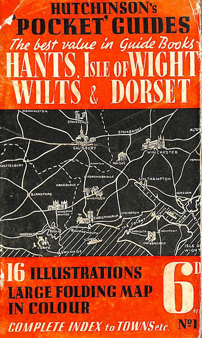 Image for HUTCHINSONS POCKET GUIDES : HAMPSHIRE AND THE ISLE OF WIGHT WILTSHIRE AND DORSET.