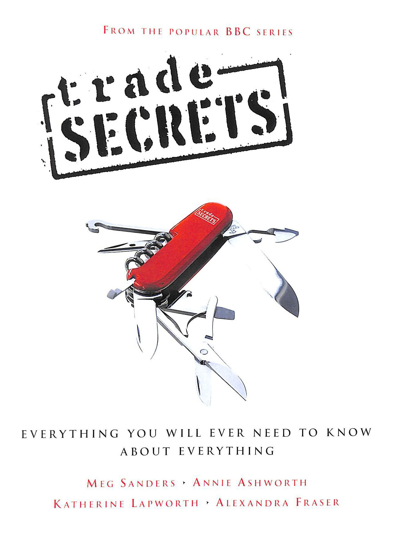 Image for Trade Secrets: Everything You Will Need To Know About Everything (New Expanded Edition): Everything You Will Ever Need to Know About Everything