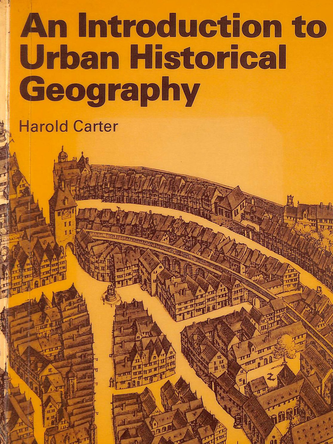 Image for An Introduction to Urban Historical Geography