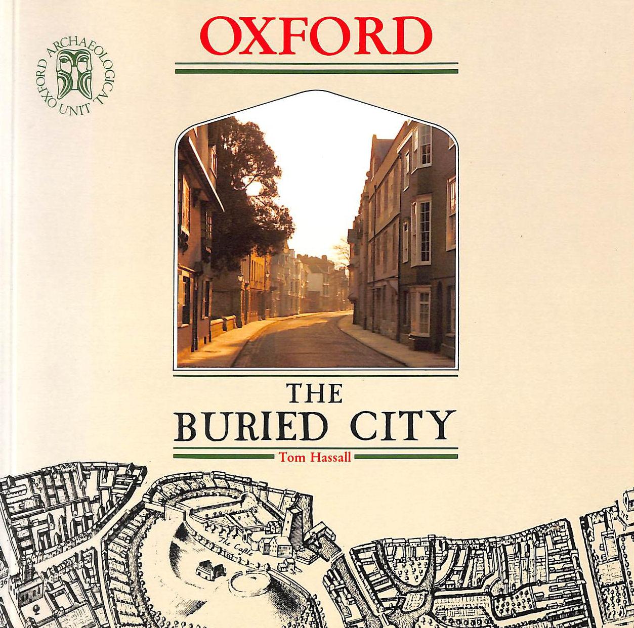 Image for Oxford - the Buried City