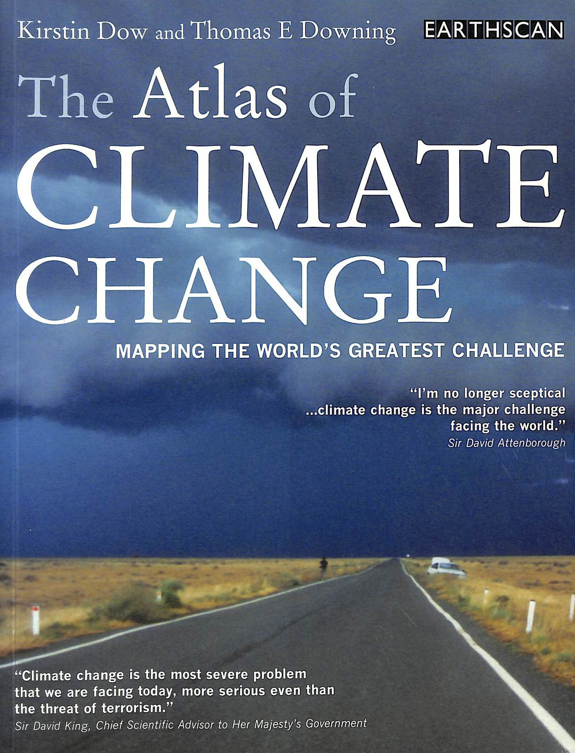 Image for The Atlas of Climate Change: Mapping the World's Greatest Challenge