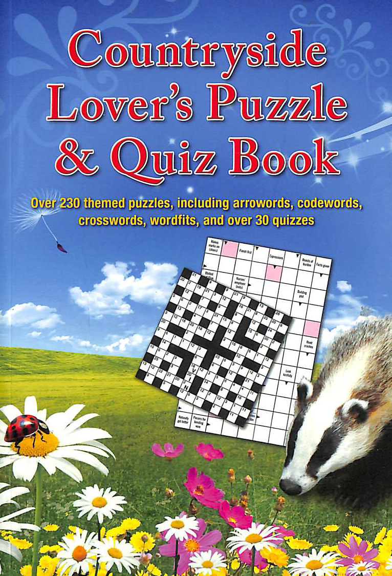 Image for COUNTRYSIDE LOVER'S PUZZLE and QUIZ BOOK PAPERBACK