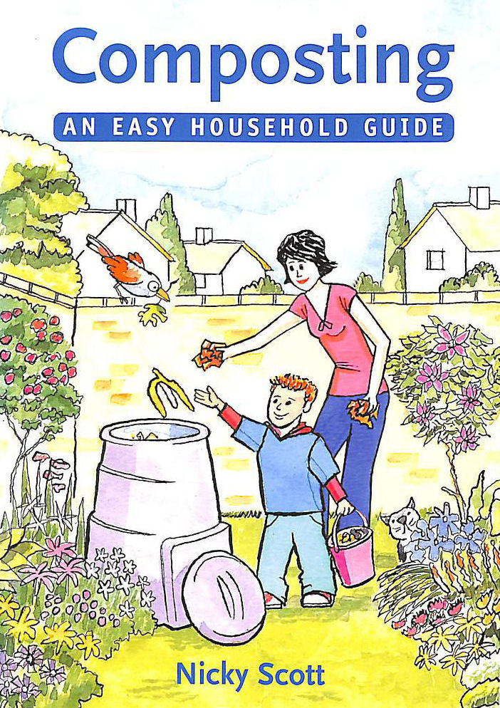 Image for Composting: An Easy Household Guide (Green Books Guides)