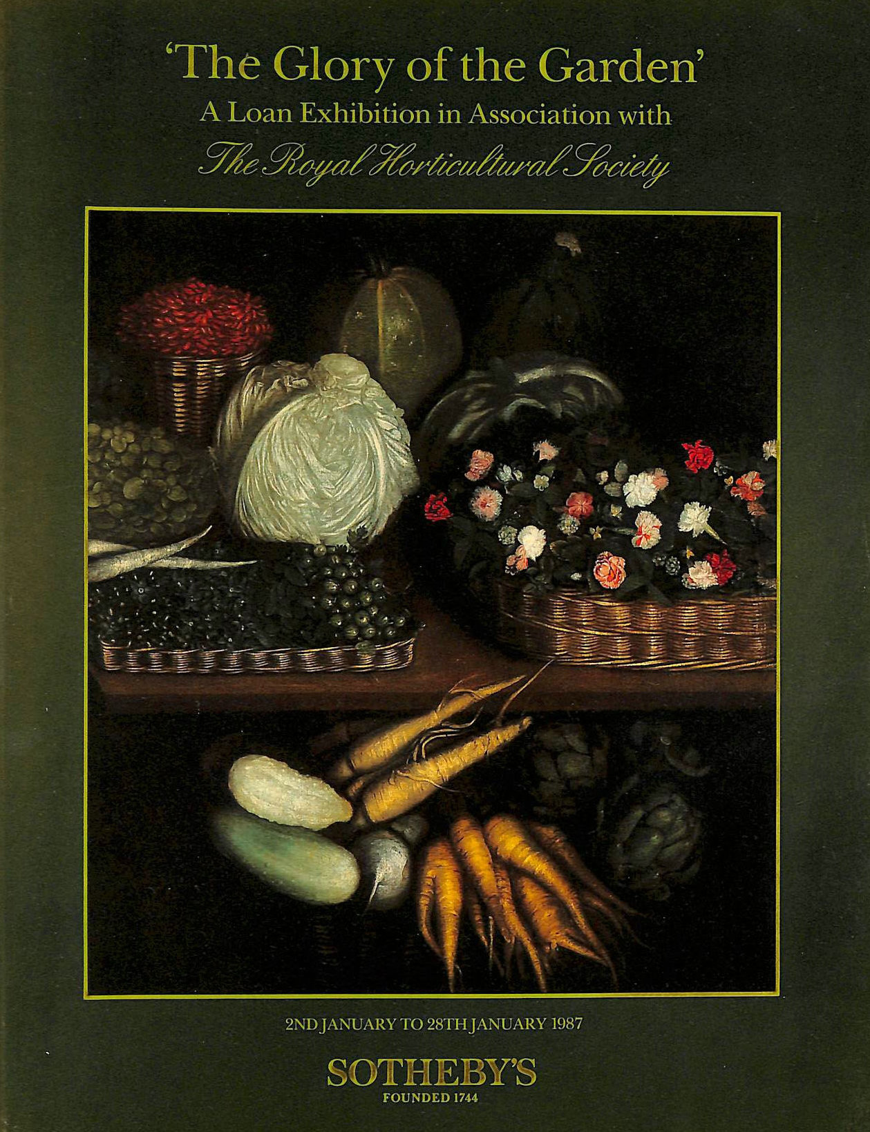 Image for The Glory of the Garden: A Loan Exhibition in Association with The Royal Horticultural Society