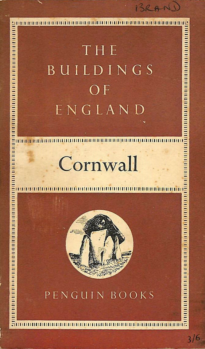 NIKOLAUS PEVSNER - The Buildings of England. BE 1. Cornwall