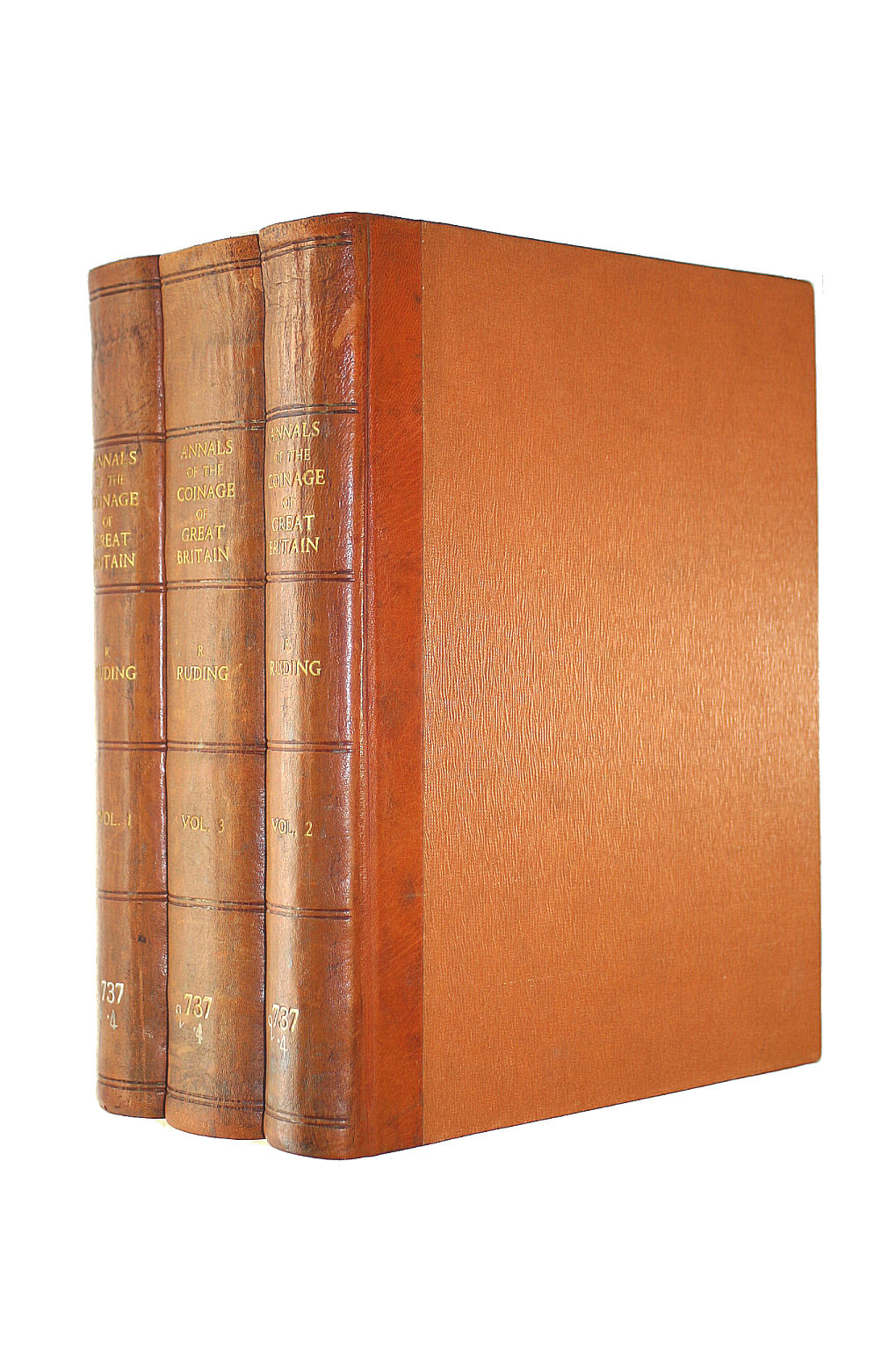 Image for ANNALS OF THE COINAGE OF GREAT BRITAIN AND ITS DEPENDENCIES FROM THE EARLIEST PERIOD OF AUTHENTIC HISTORY TO THE REIGN OF QUEEN VICTORIA. THIRD EDITION. 3 VOLUME SET.