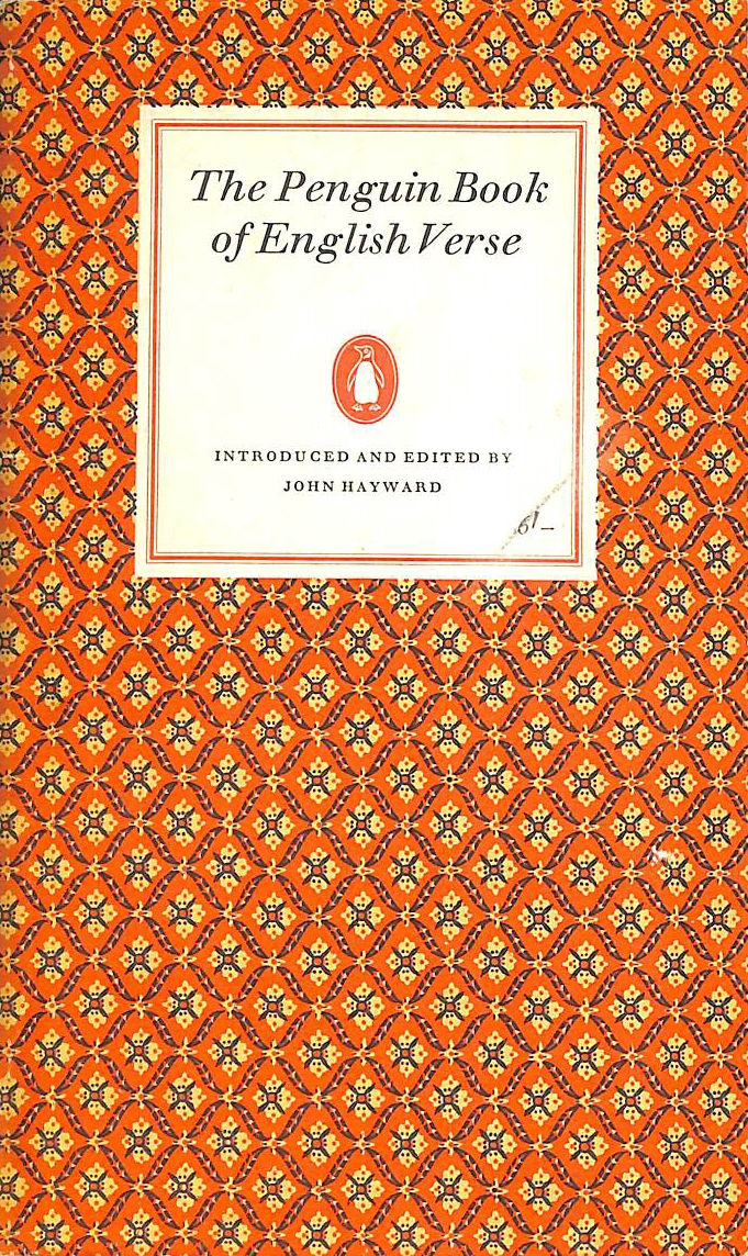 Image for The Penguin Book of English Verse.