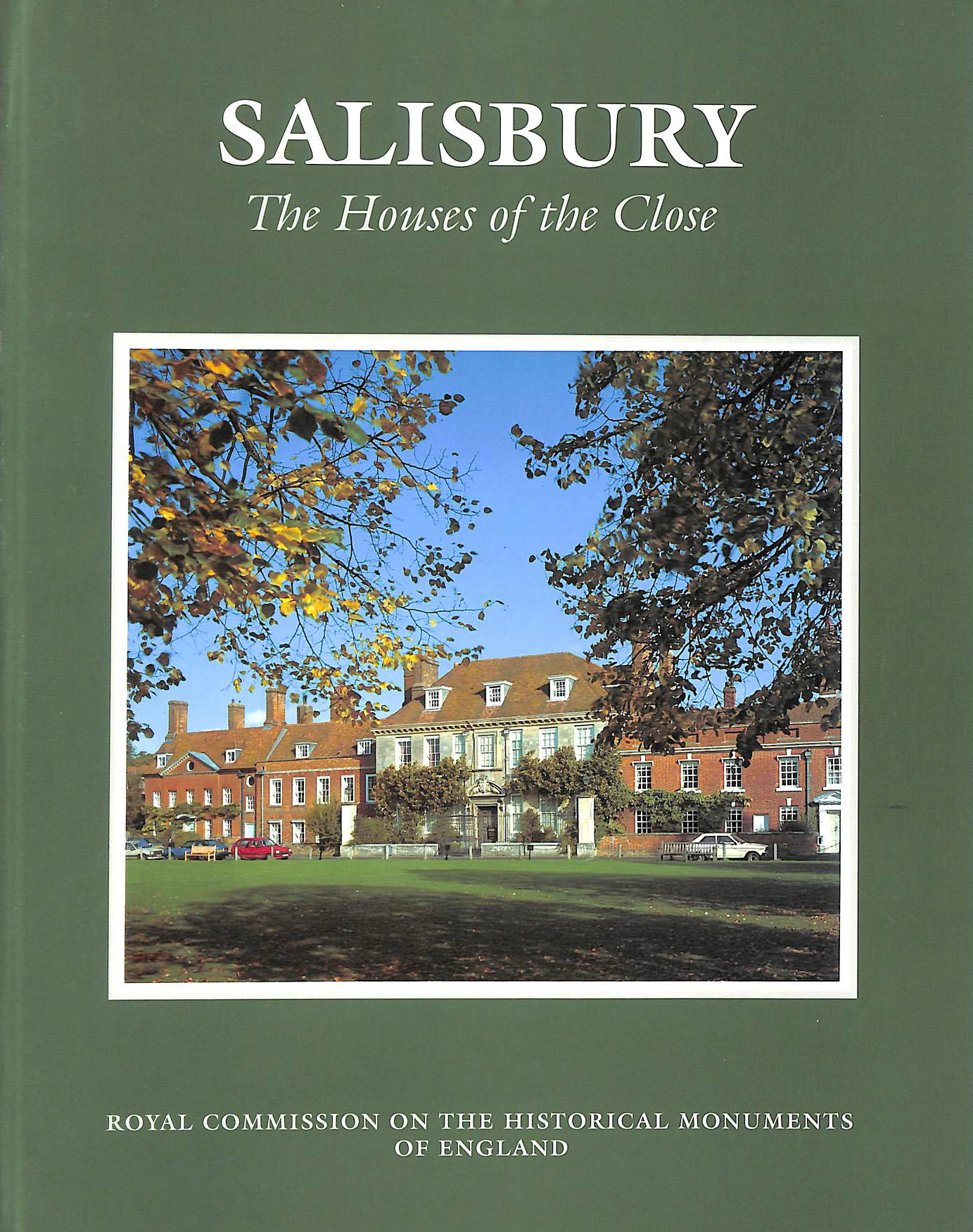 Image for Salisbury: The Houses of the Close