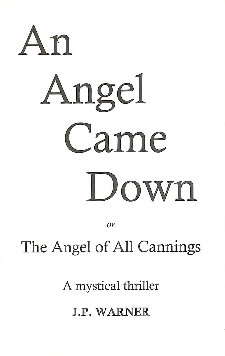 Image for An Angel Came Down: The Angel of All Cannings