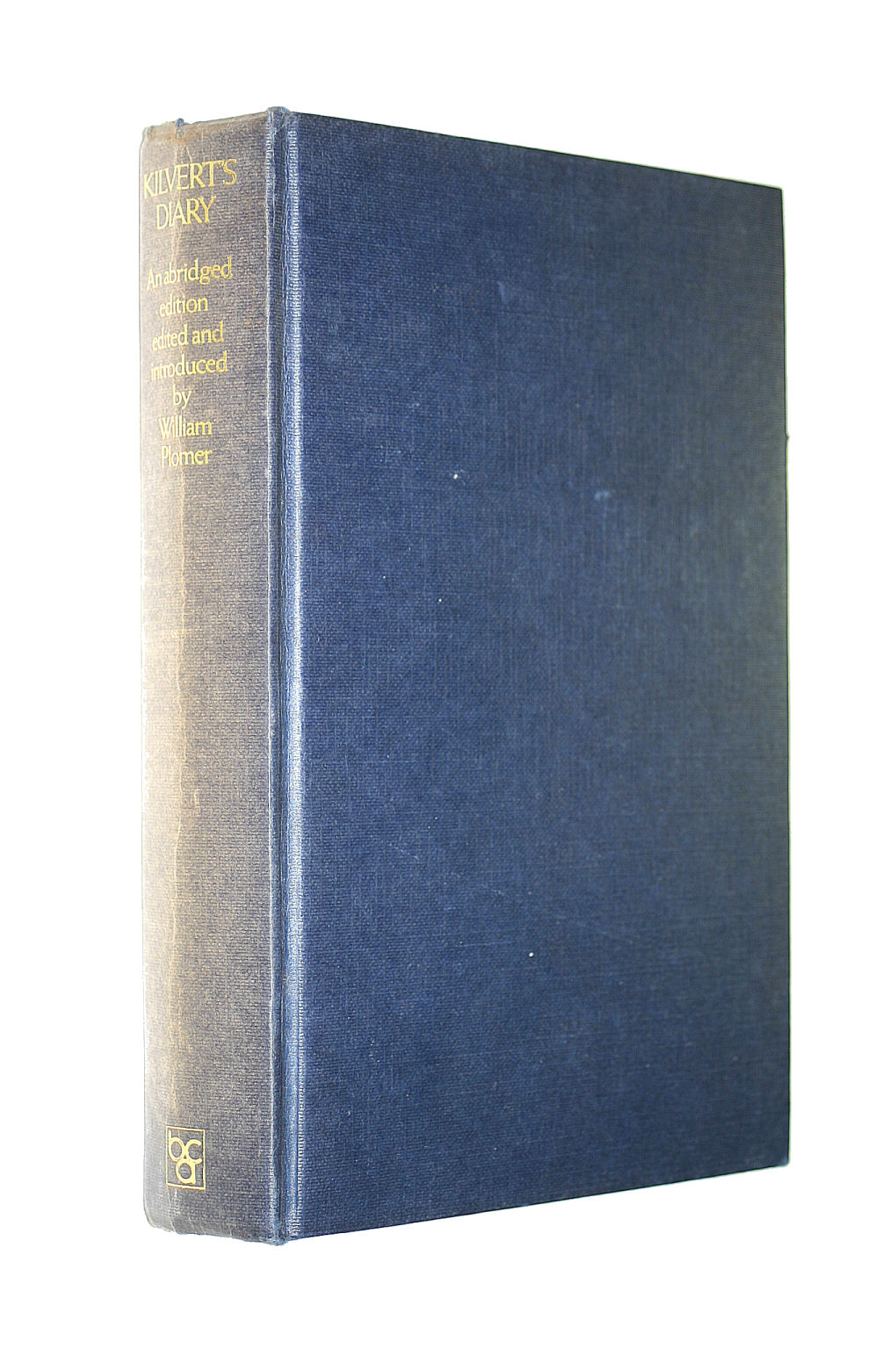 Image for Kilvert's Diary 1870-1879 Selections from the Diary of The Rev. Francis Kilvert