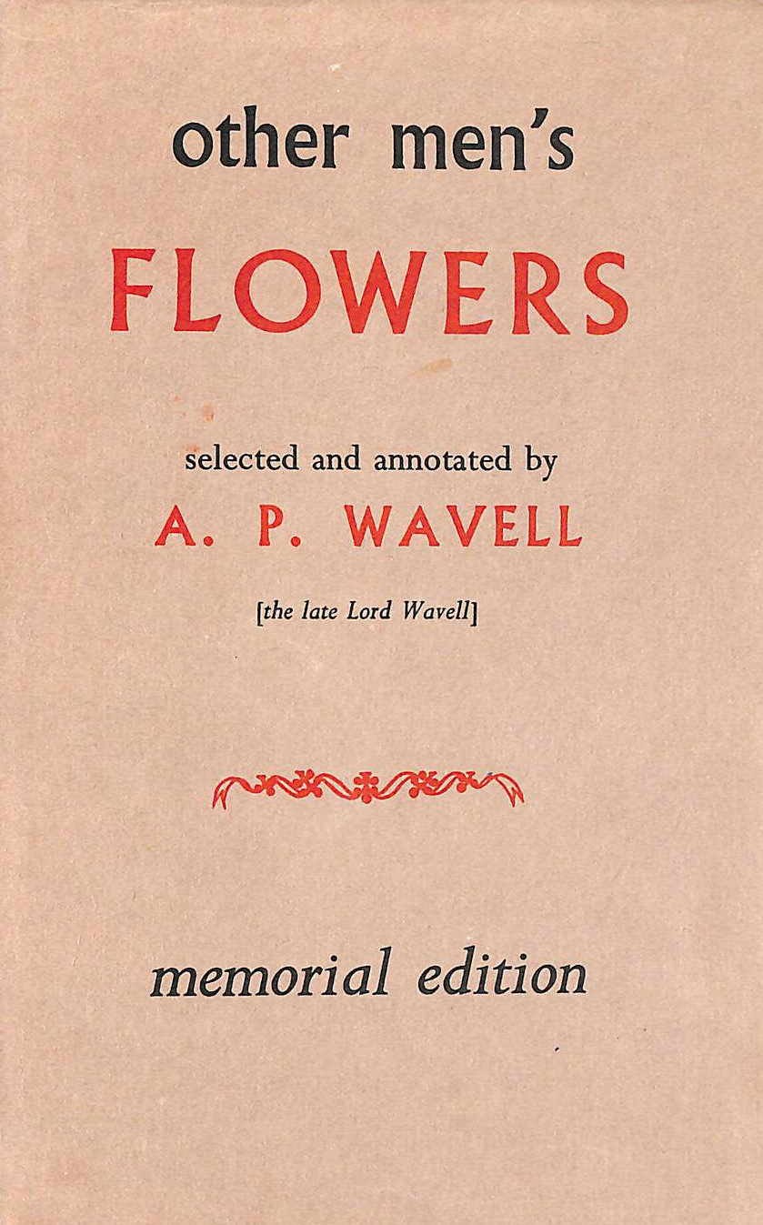 Image for Other Men's Flowers: An Anthology of Poetry