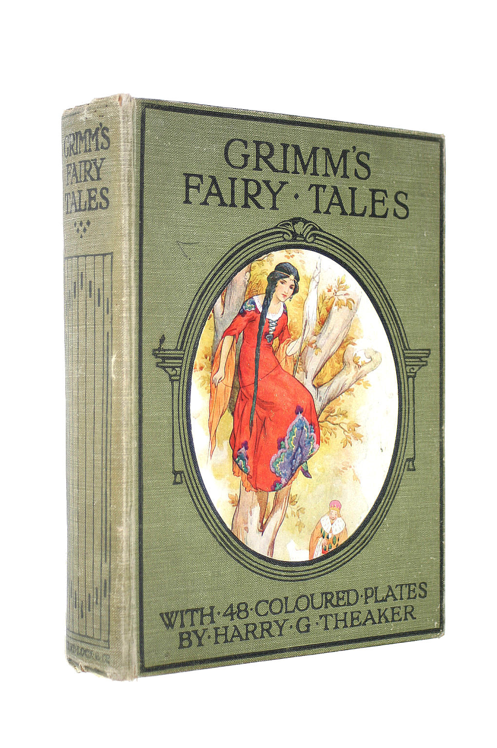 Image for Grimm's Fairy Tales With 48 Colour Plates