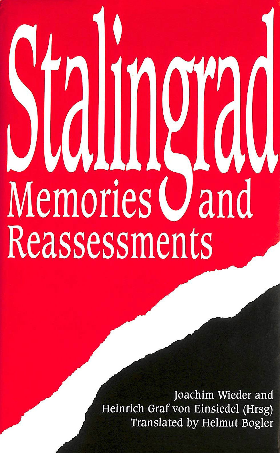 Image for Stalingrad: Memories and Reassessments