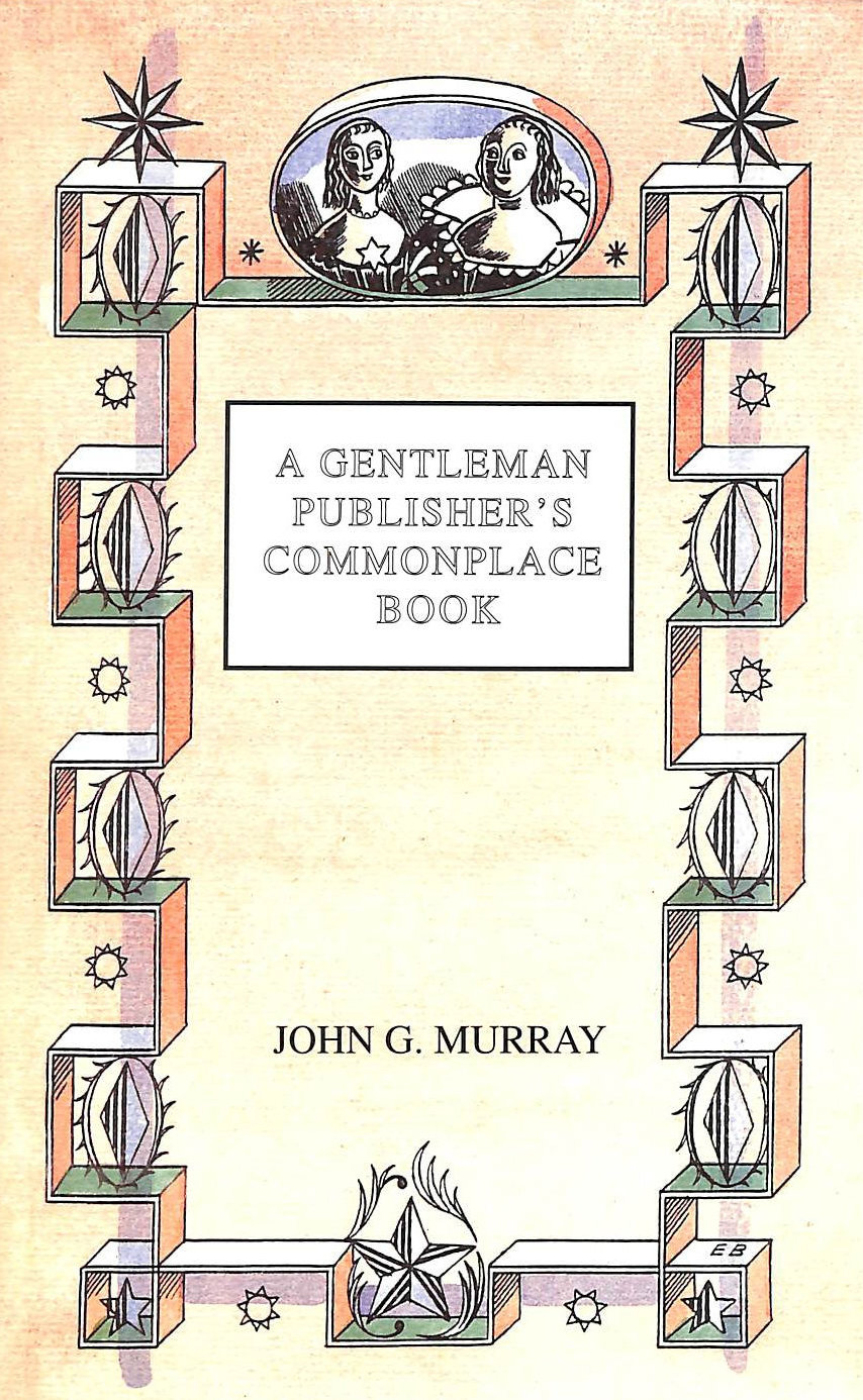 Image for A Gentleman Publisher's Commonplace Book