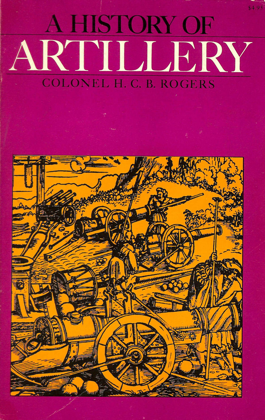 Image for History of Artillery
