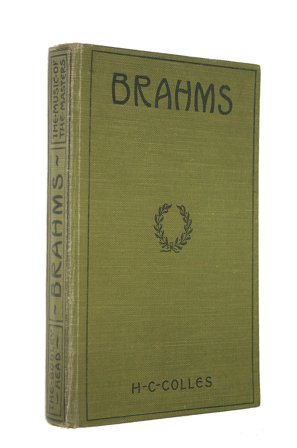 Image for Brahms. With a portrait and musical illustrations (Music of the Masters.)