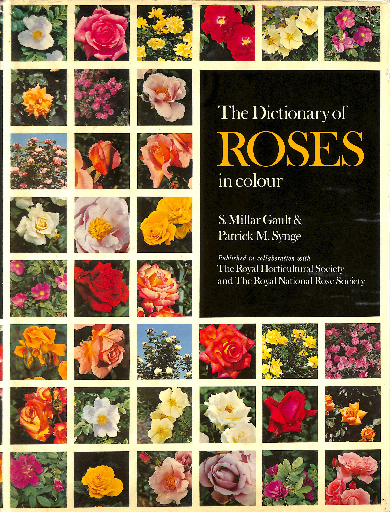 Image for Dictionary of Roses in Colour