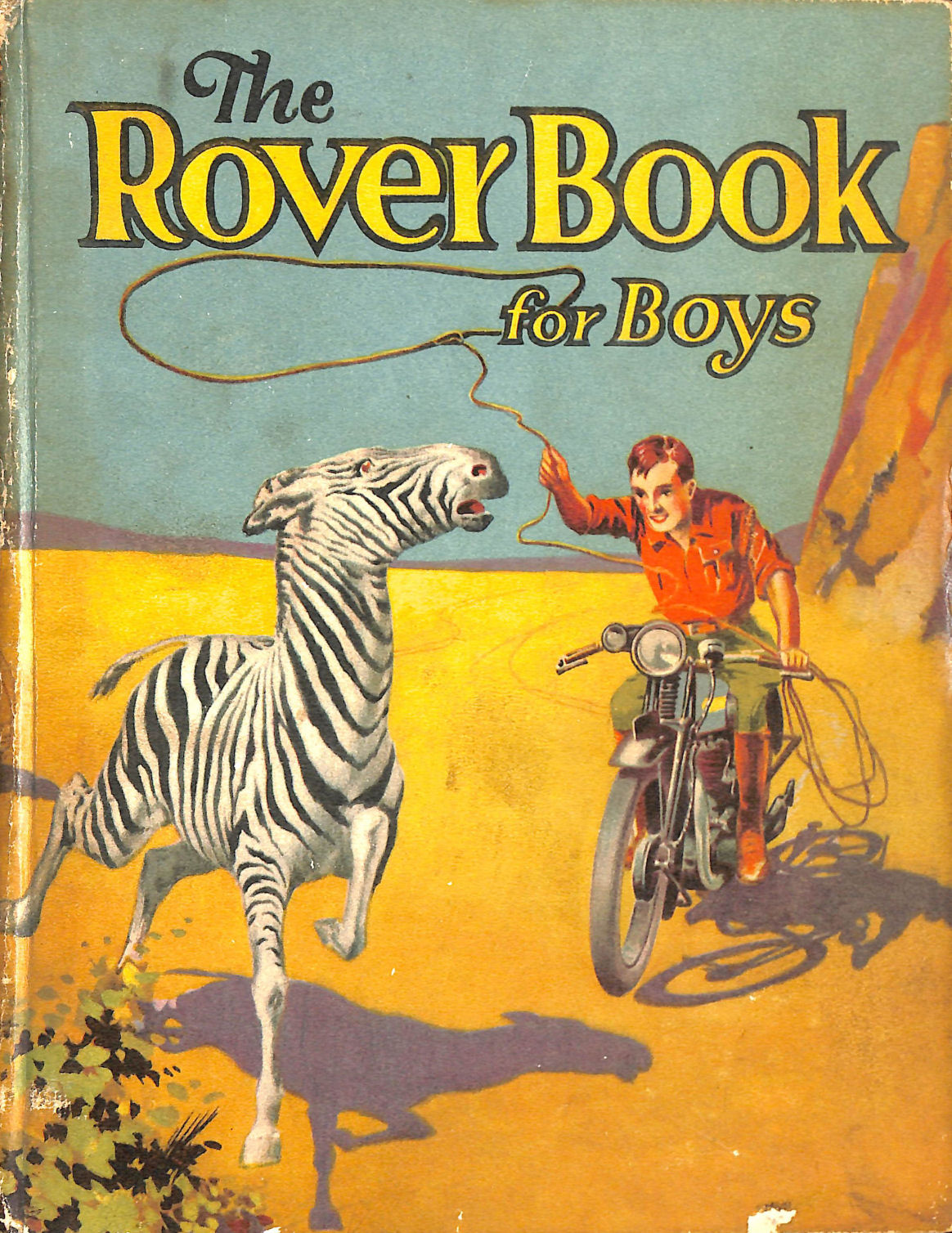 Image for THE ROVER BOOK FOR BOYS 1933