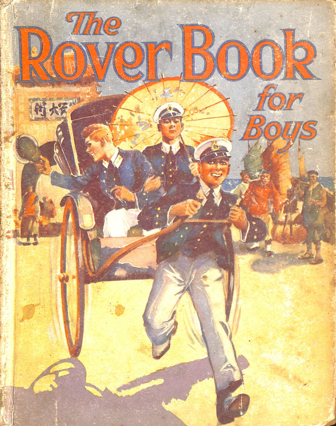 Image for The Rover Book for boys 1930