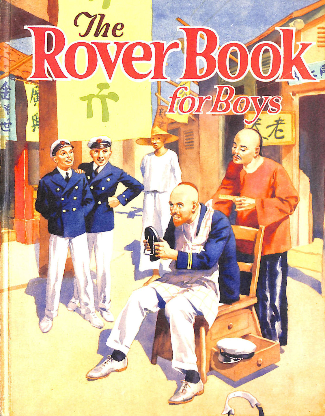 Image for The Rover book for boys (1935)