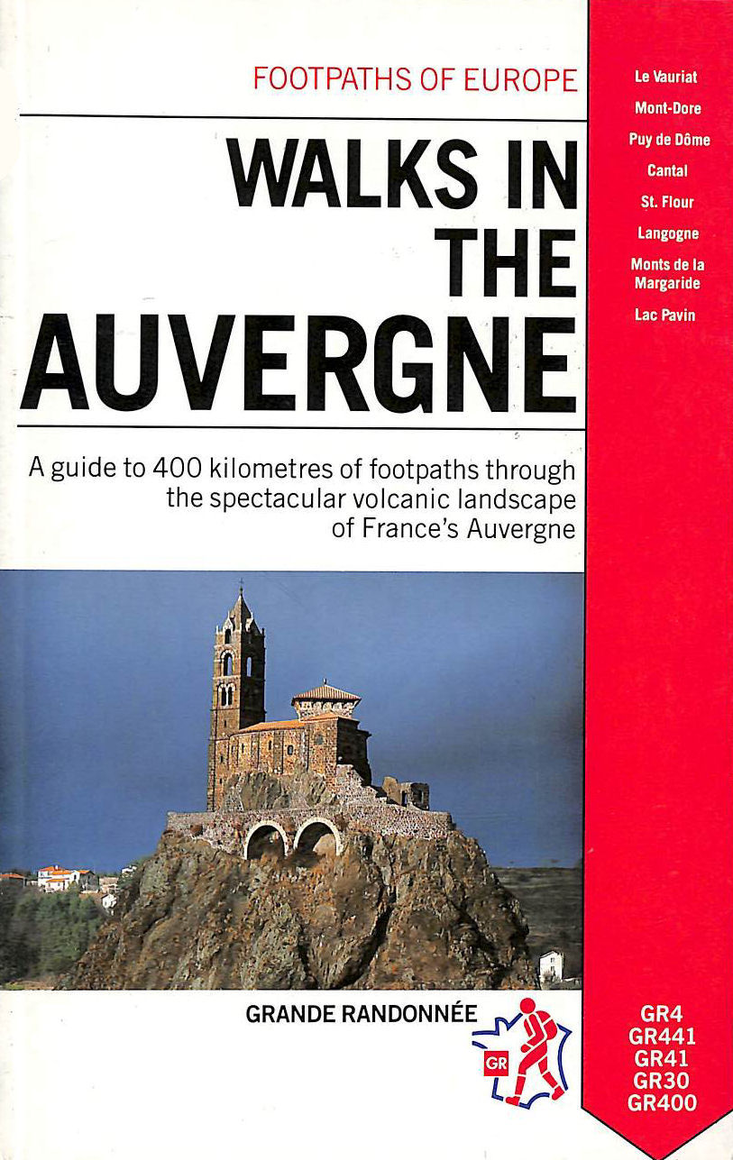 Image for Walks in the Auvergne (Footpaths of Europe)