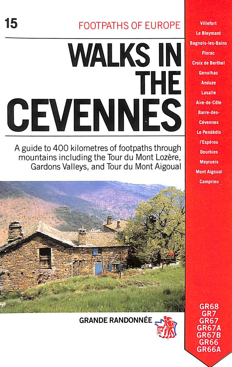 Image for Walks in the Cevennes (Footpaths of Europe)