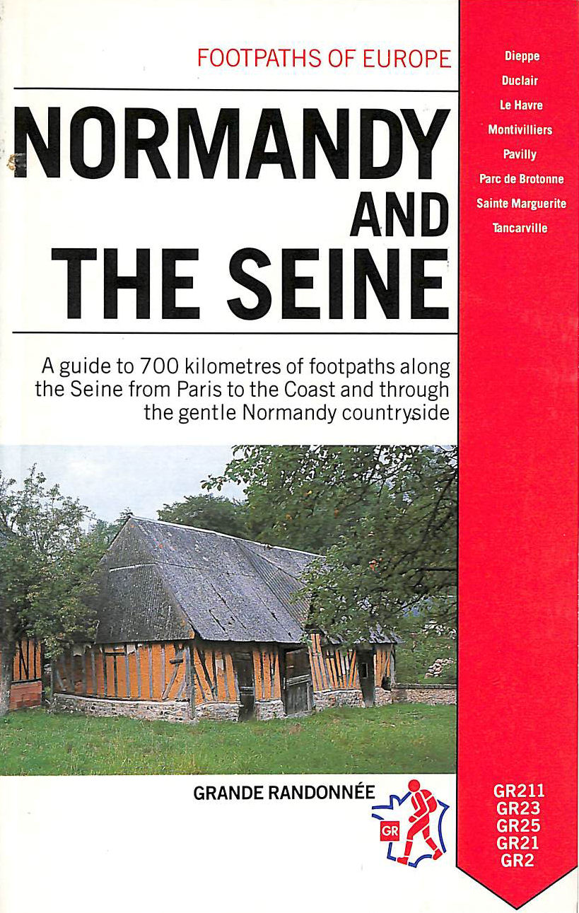 Image for Normandy and the Seine (Footpaths of Europe)