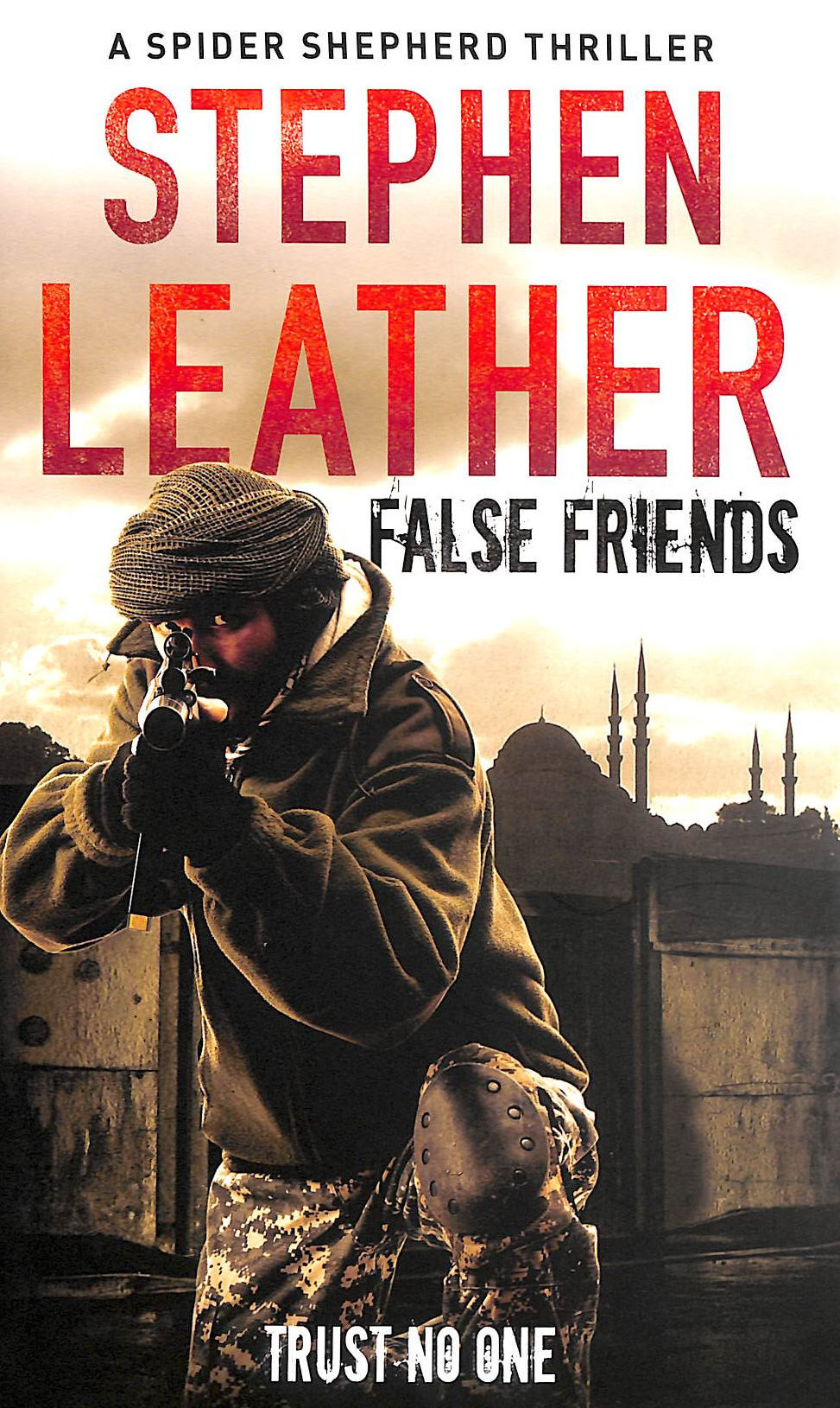 Image for False Friends: The 9th Spider Shepherd Thriller