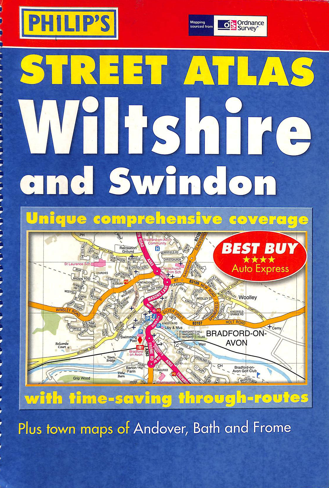 Image for Street Atlas Wiltshire: The Definitive Wiltshire Atlas