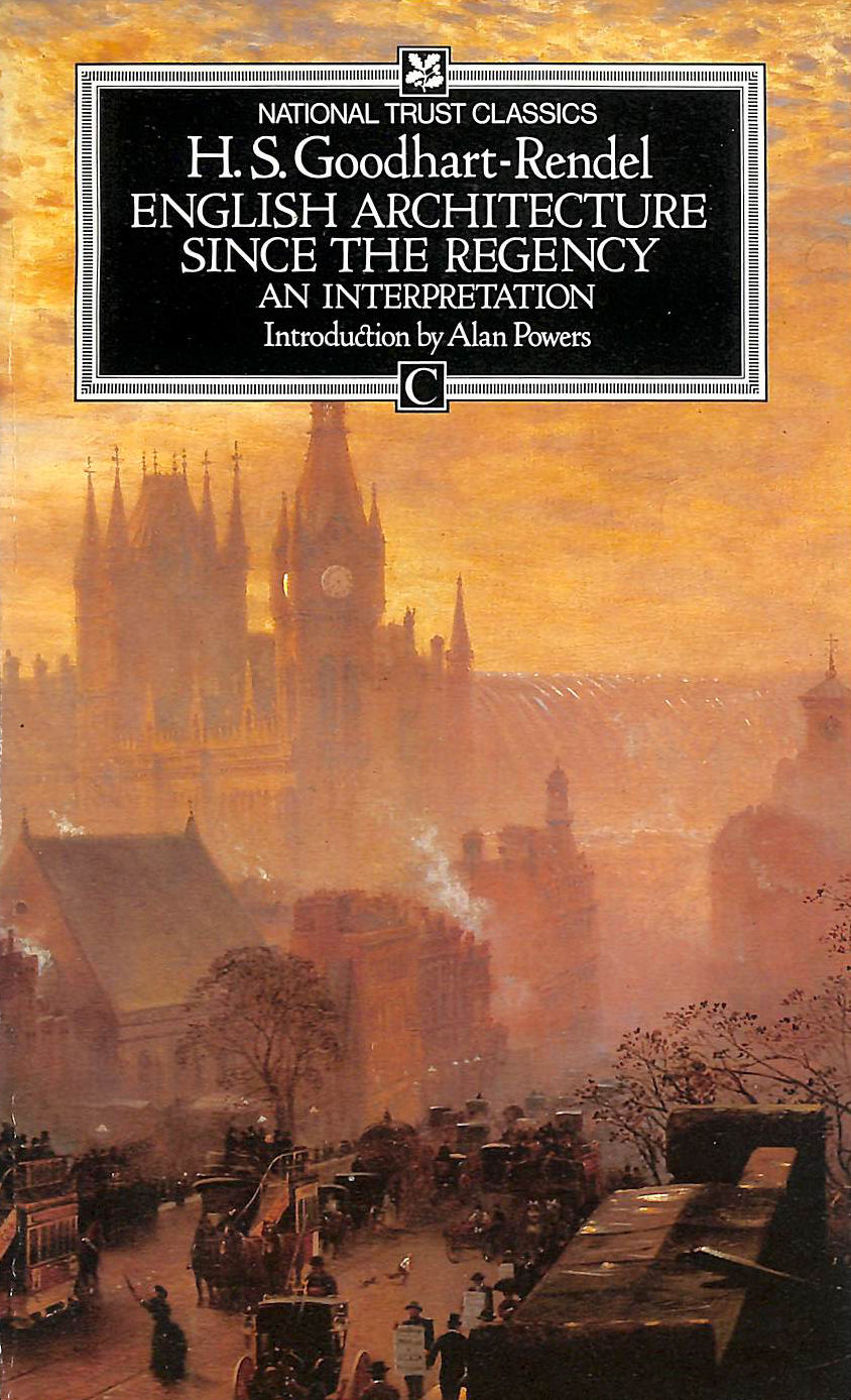 Image for English Architecture Since the Regency (National Trust classics)