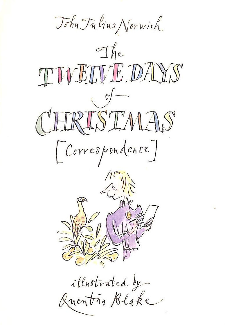 Image for Twelve Days of Christmas(Correspondence)