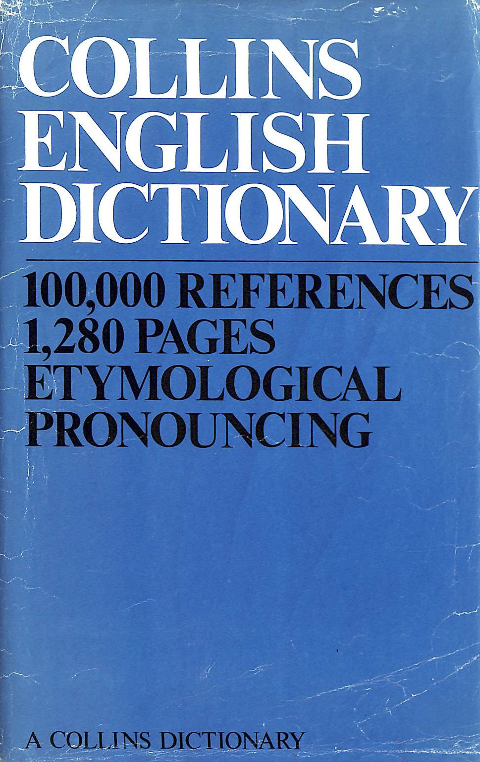 Image for Collins English Dictionary Etymological Pronouncing