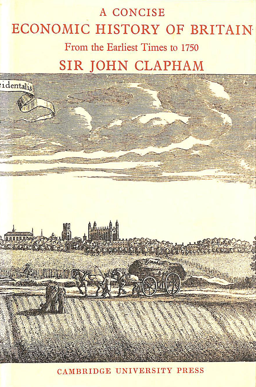 Image for A Concise Economic History of Britain From the Earliest Times to 1750
