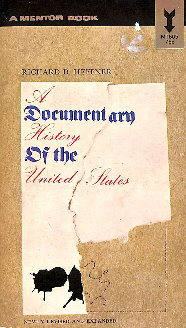 Image for A Documentary History of the United States
