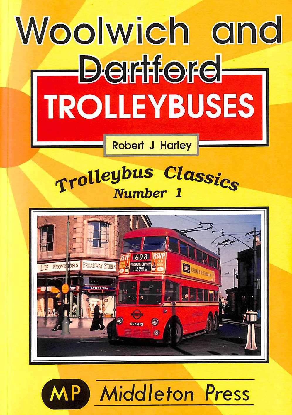 Image for Woolwich and Dartford Trolleybuses