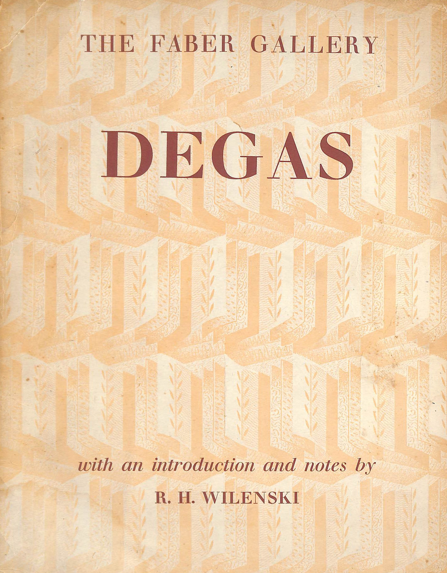 Image for Degas  - The Faber Gallery