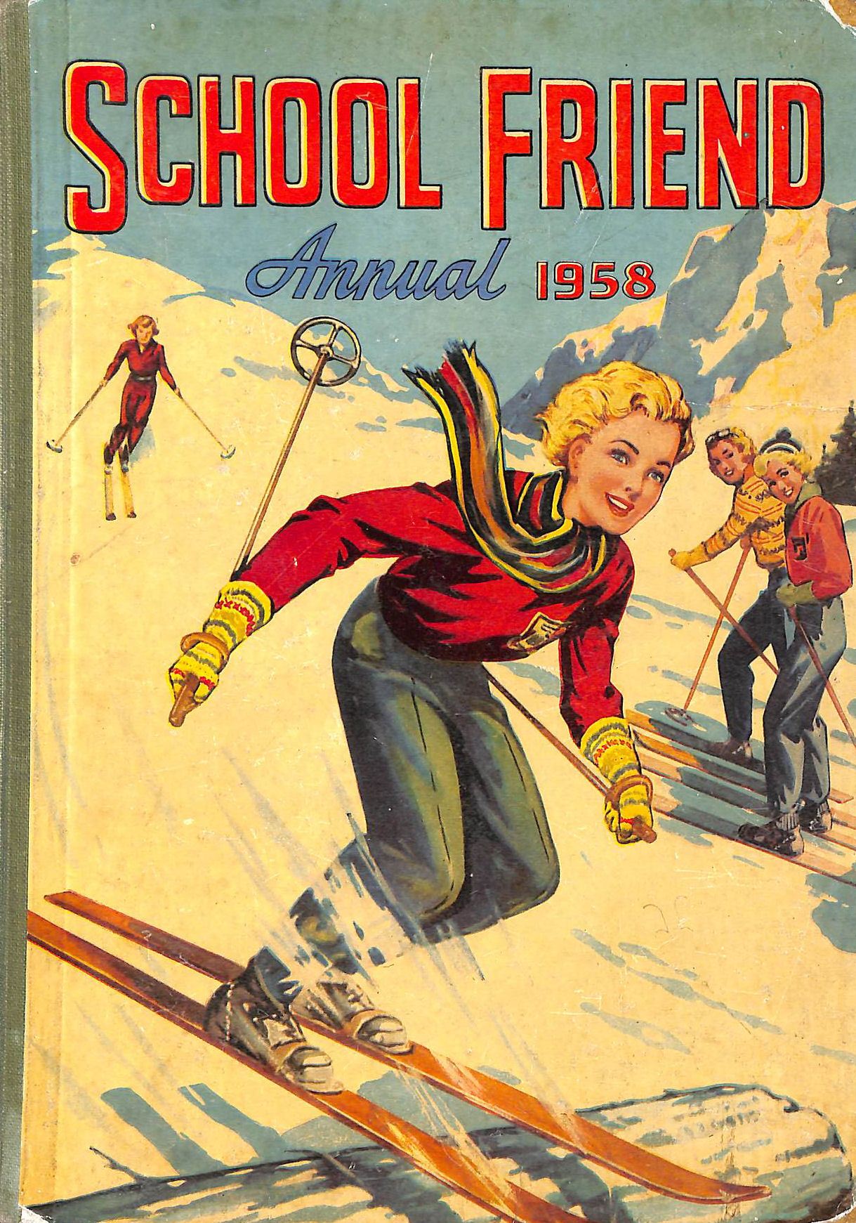 Image for School Friend Annual 1958